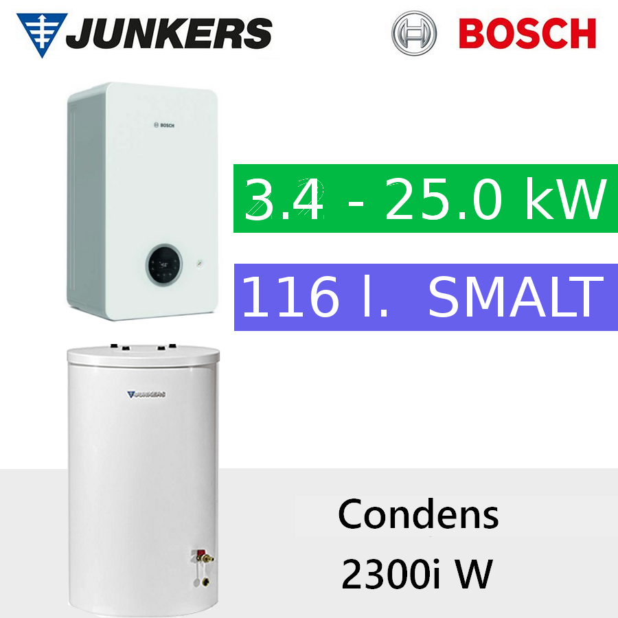 Bosch Condens GC 2300iW 24 P + WST 120-5O